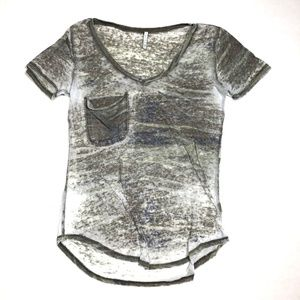 Z Supply Tops - Z Supply Small Burnout Camo Tee T-Shirt Top Shirt